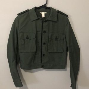 Cropped Cargo Jacket from H&M